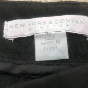 New York In Co Tall Work Pants